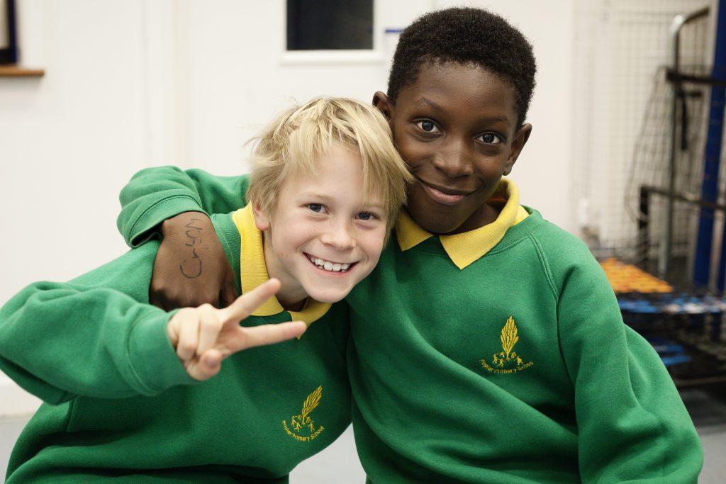 Children having music lessons Merton Music Foundation