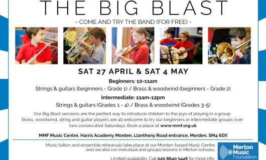 THE BIG BLAST – JOIN THE BAND