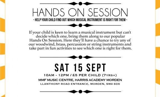 Hands On Session / Sat 15 Sept