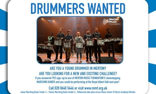 DRUMMERS WANTED