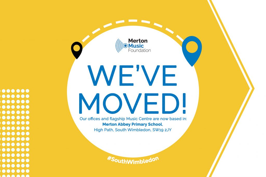 MMF has moved offices and flagship Music Centre to Merton Abbey Primary School, South Wimbledon.